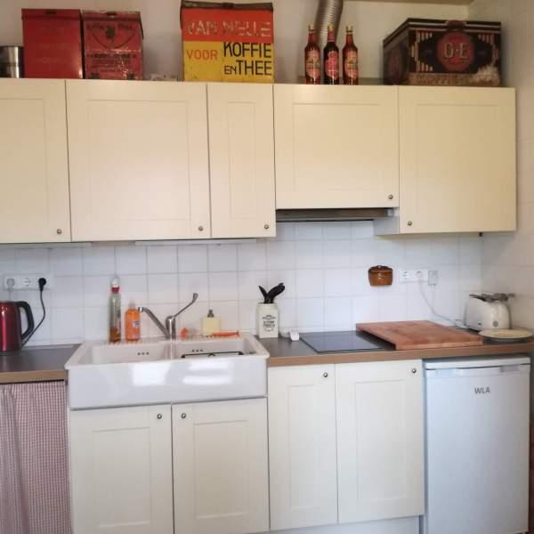 eigen keuken bij bed en breakfast vakantiehuisje molenbergh in zuidwest drenthe