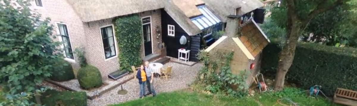 jaap en janetvan der molen van bed en breakfast vakantiehuisje molenbergh in zuidwest drenthe