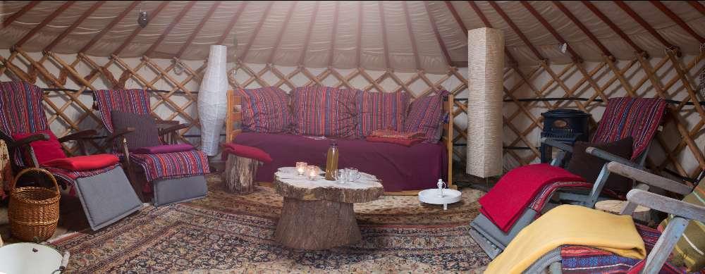 knusse gezellige yurt bed en breakfast vakantiehuisje molenbergh in zuidwest drenthe