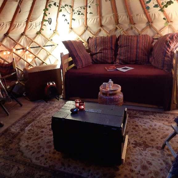 yurt bnb molenbergh binnen