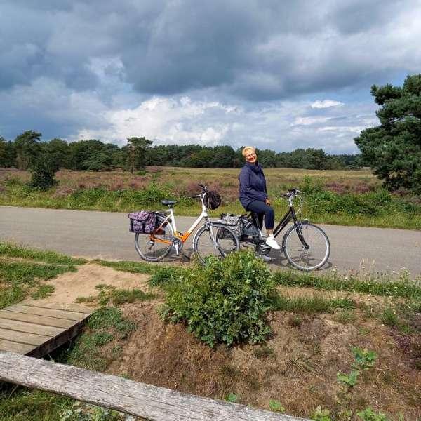 fietsen bij de Havelterberg 10 km vanaf Molenbergh vakantiehuisje