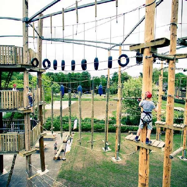 klimpark Meppel 7 km vanaf Molenbergh vakantiehuisje Drenthe